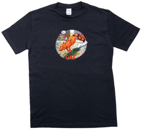 Furry Freak Brothers Fat Freddy's Cat T Shirt